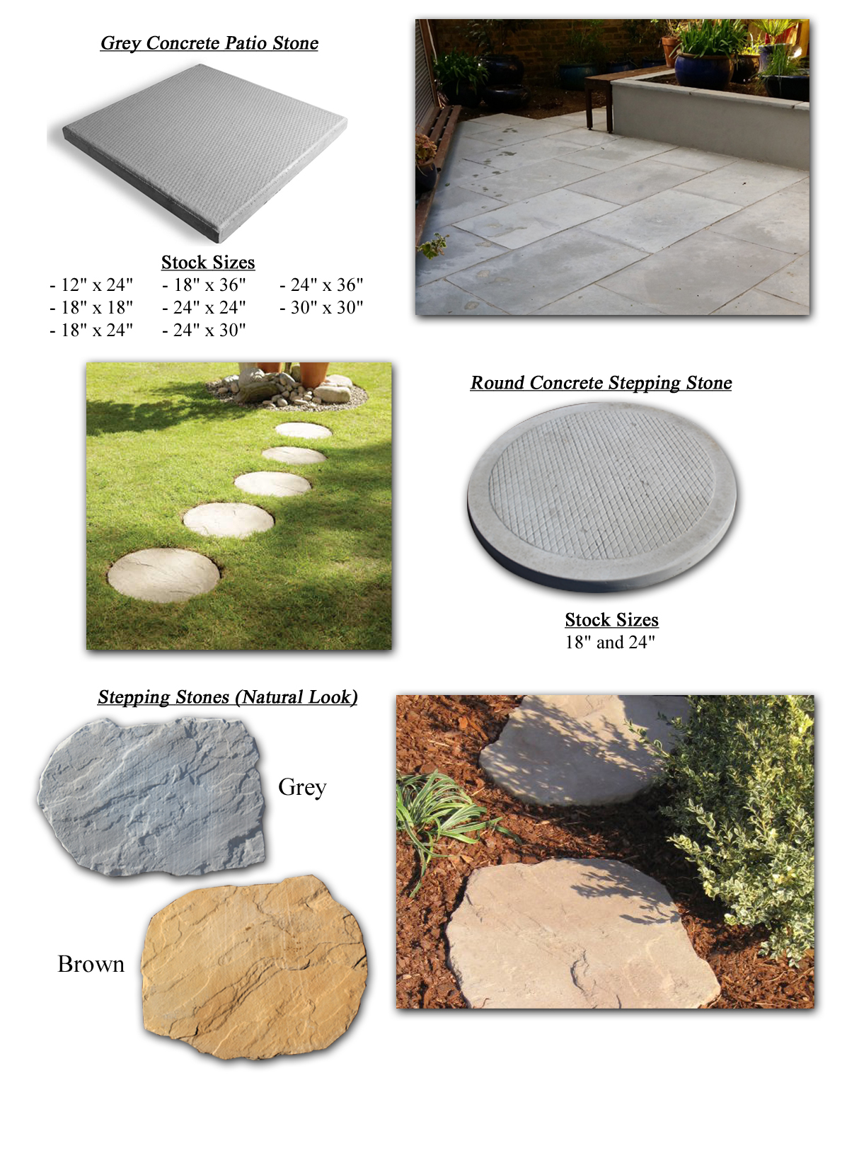 Patio/Stepping Stone Prevent6640 February 11, 2016 March 9, 2018
